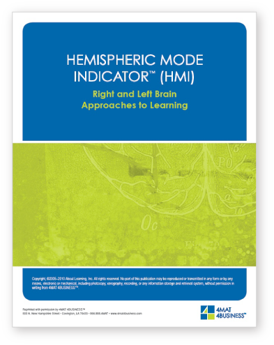 hemispheric mode indicator
