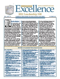 Leadership Excellence Magazine